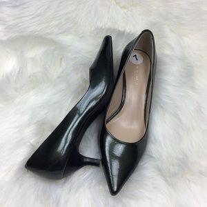 Nine West Greenish Black Heels